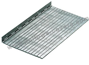 aluminium riveted apron-covers